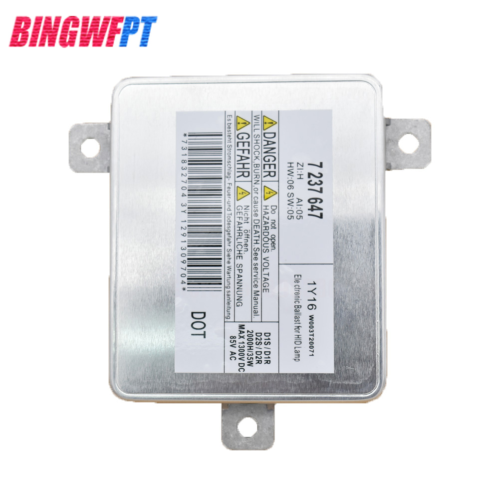 D1S D1R D2S D2R HID Xenon Ballast for Mitsubishi BMW E90 F10 F11 F01 F07 7237647 W003T20071 63117237647 xenon d1s headlight ballast computer control for bmw1 7237647