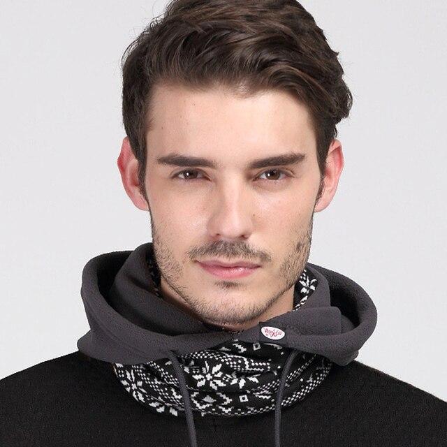 Men Women Polyester Fleece Beanies Skullies Balaclavas Outdoors Motorcycling Skiing Cycling Winter Hats Caps Face Mask Scarf