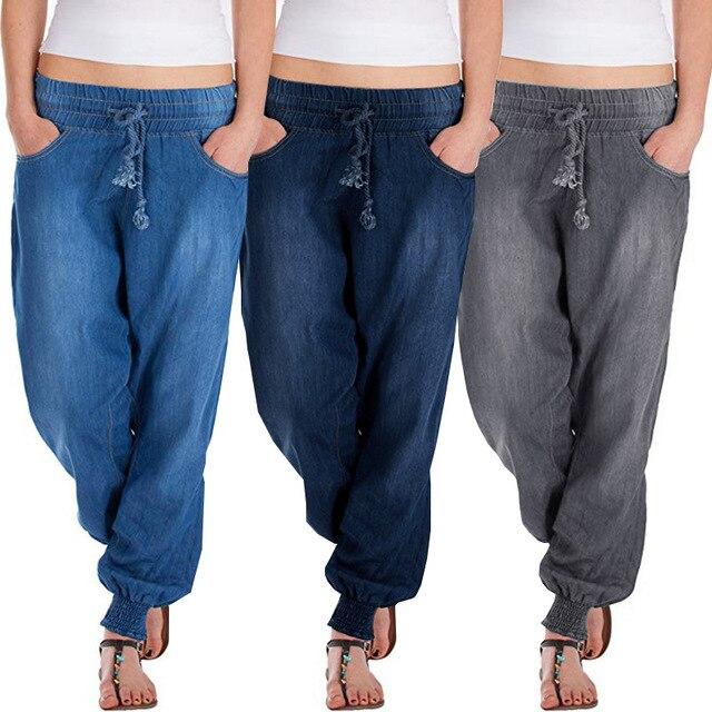 Jean Été Hop Femme Cowboy Printemps Pantalons Mujer Pantalon 2019 Femmes Jeans Harem Lâche Nouveau Hip Feminino Denim UzVpqSGM