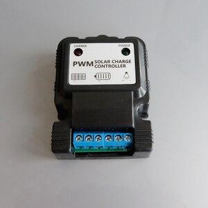 Image 2 - 3A 6V 12V 3.7V 7.4V 11.1V 6.4V 12.8V 太陽電池パネル充電コントローラ李リチウムイオンリチウム LiFePO4 電池レギュレータ 5a