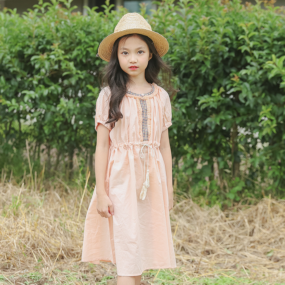 big girls summer dresses 2018 brand children clothing teenagers girl dress kids clothes for 4 5 6 7 8 9 10 11 12 13 14 15 years kids 2017 new summer big flower chiffon girl dress sleeveless solid color dress 3 4 5 6 7 8 9 10 11 12 years baby girl clothes