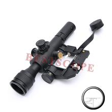 Tactical Hunting SVD Dragunov Optics 4×26 Red Illuminated Rifle Scope Airsoft Red Dot Sight Sniper Gear