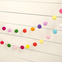 Party Handmade Garlands Rainbow