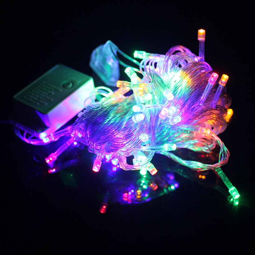 Led Mardi Gras String Lights : Aliexpress.com : Buy 10 meters Waterproof LED lights flashing string lights wedding decorative ...