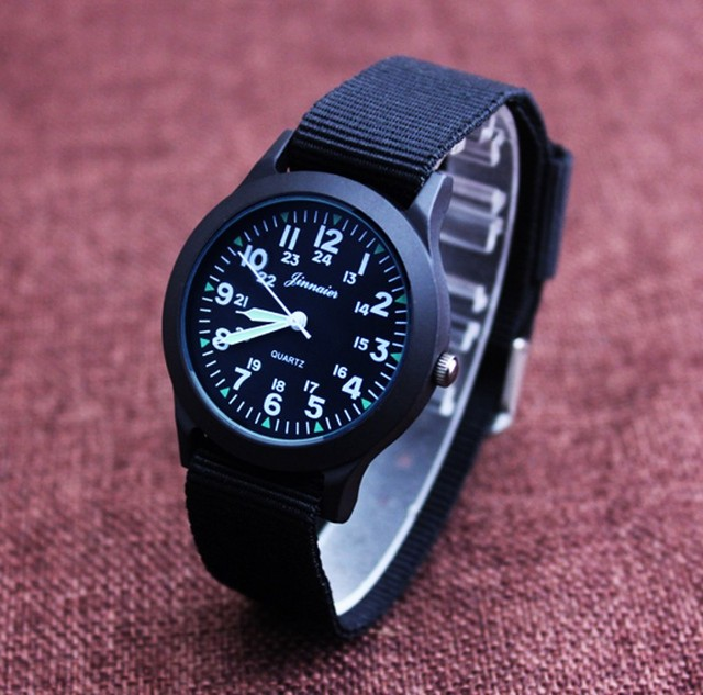 2017 new arrival cute  nylon strap watch birthday Christmas gift girls boys wristwatch  Y1158