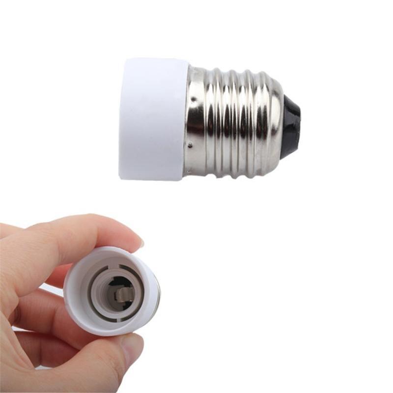 E27 to E14 Converter Socket Adapter E27 E14 LED Light Bulb Lamp Adapter Extend Base Holder Screw Socket Adapter Converter