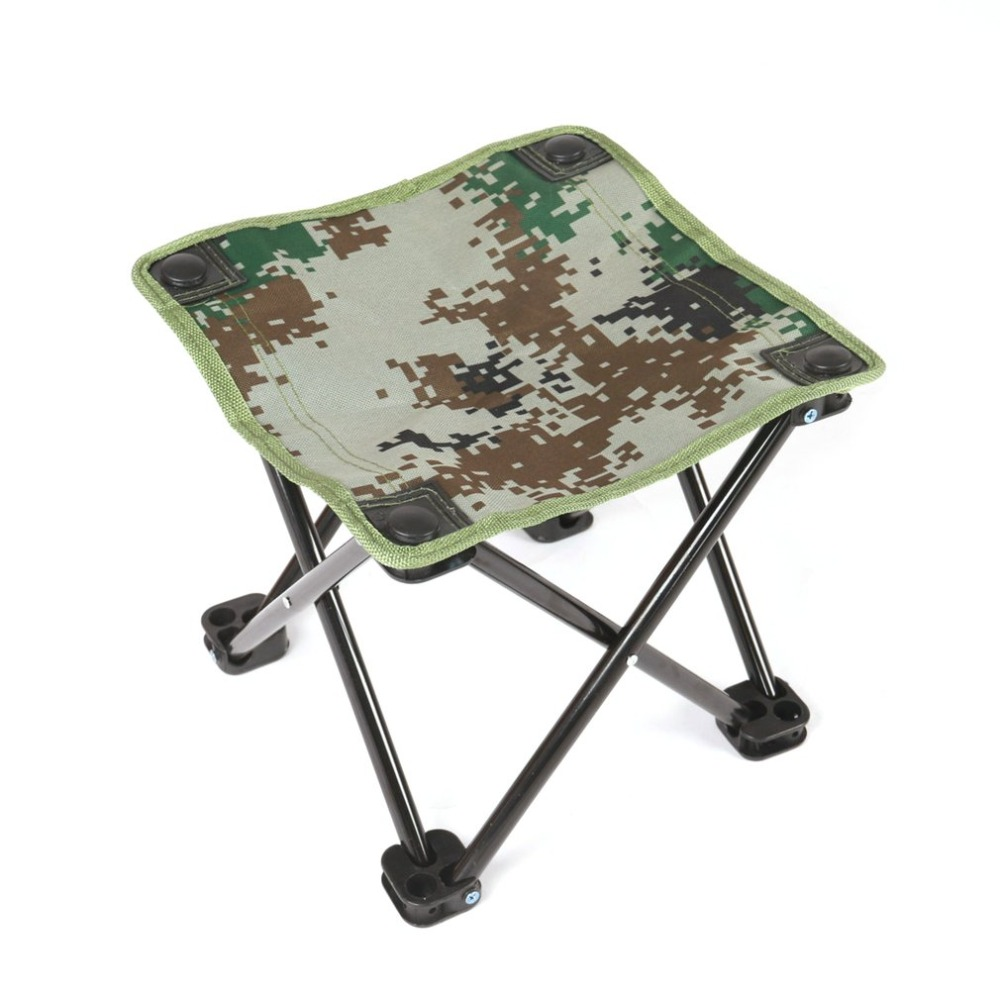 Small Stool Chair Catrp Camp Folding Chairs Aluminum Alloy Compact Lightweight