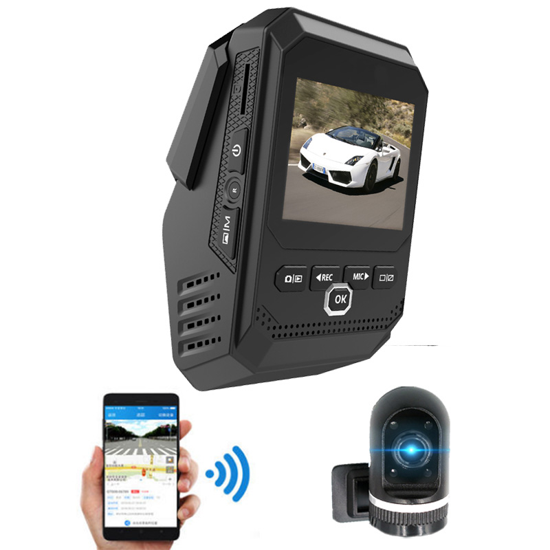 2.3Inch Screen Wifi Car DVR Registrator Dash Camera Cam Digital Video Recorder Camcorder 1080P Night Version 96658 IMX 323, цена и фото