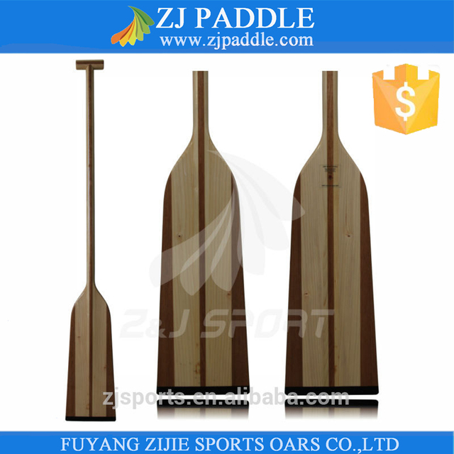 IDBF approved Wood Dragon Boat Paddle With Fiberglass Reinforced