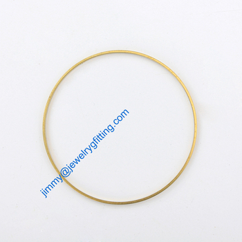 500PCS Raw Brass Circle 60*2*1mm  copper Rings fashion jewelry findings jewelry Connectors Quoit