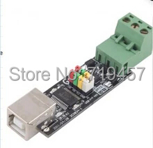 FREE SHIPPING  USB TO TTL/RS485 Double Double Protection USB To The 485 Module