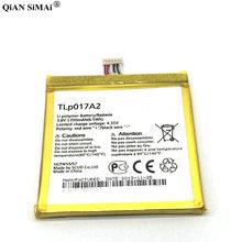 000995409aa 1700 mAh batería TLp017A1 para Alcatel OT6012 ídolo Mini 6012D 6012X 6012A  6012 W TLp017A2 reemplazo de teléfono móvil