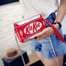 حقيبة يد جديدة صندوق صغير شكل حقيبة الكتف مضحك شخصية حقيبة كروسبودي قطري سلسلة حقيبة الموضة رسول حقيبة
