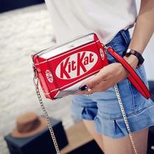 New Handbag Small Box Shape Shoulder Bag Funny Personality Crossbody Bag Diagonal Chain Bag Fashion Messenger Bag