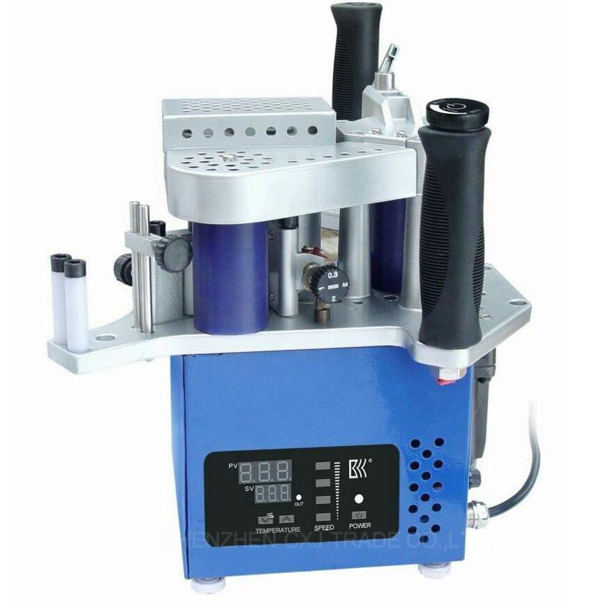 Free Shipping KM10 Version Singal unit Manual Edge Machine woodworking/Portable/Mini Compact Handheld bander machine 110V/220V