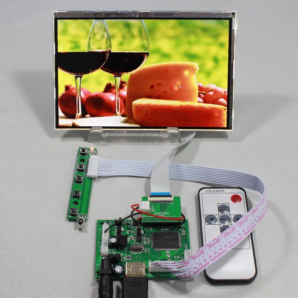 ФОТО 7inch IPS lcd screen HSD070PWW1 C00 1280x800 690cd HDMI board for Raspberry Pi