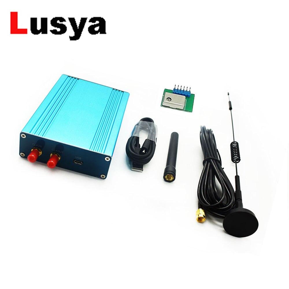 Émetteur-récepteur semi-duplex SDR logiciel défini Radio 1 MHz à 6 GHz carte de développement de carte mère comprennent 2.5ppm tcxo T0406