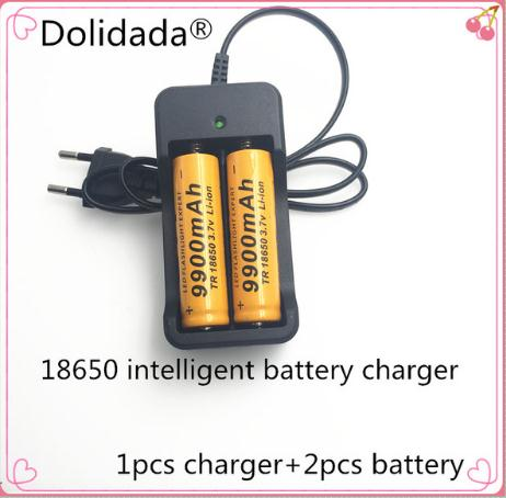 1pcs New Intelligent Charger For 18650 Li-ion Rechargeable Battery