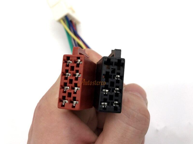12-021 ISO standard HARNESS Radio Adapter for SUBAR U 1992+ RENAULT Traffic 2014+