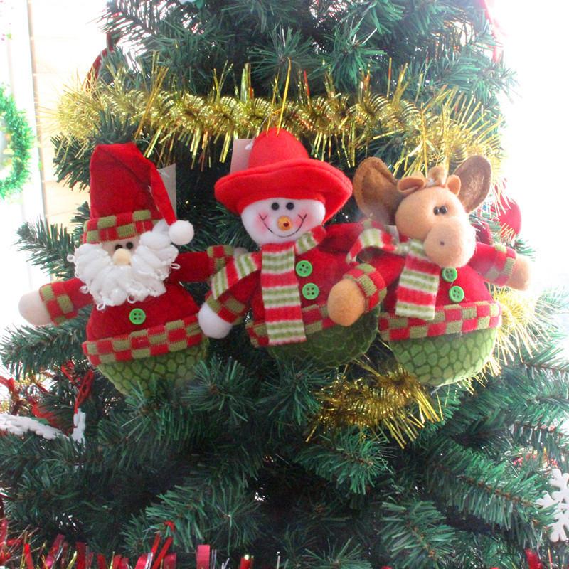 ciervos del mueco de nieve colgante ornamento colgante del rbol de navidad fuentes de la decoracin