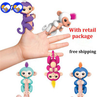A Toy A Dream Retail Package Fingerlings Sloth Unicorn Fingerlings Interactive Baby Monkeys Toy Smart Smart