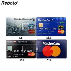 Retobo Usb 2,0 Pendrives usb-накопитель Personalizado Memoria USB 32 ГБ Usb 4 ГБ 8 ГБ 16 ГБ 64 ГБ кредитной картой U диск для Бесплатная доставка