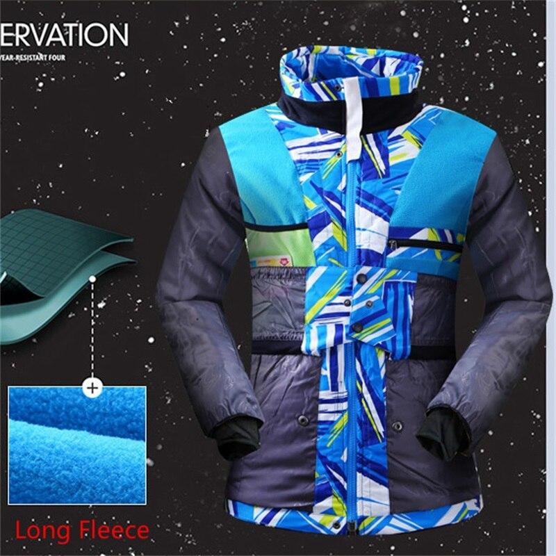 SUPER vente femmes vestes de Ski imperméable respirant femmes manteau de Ski hiver épais chaud extérieur alpinisme thermique matériel de Ski - 5