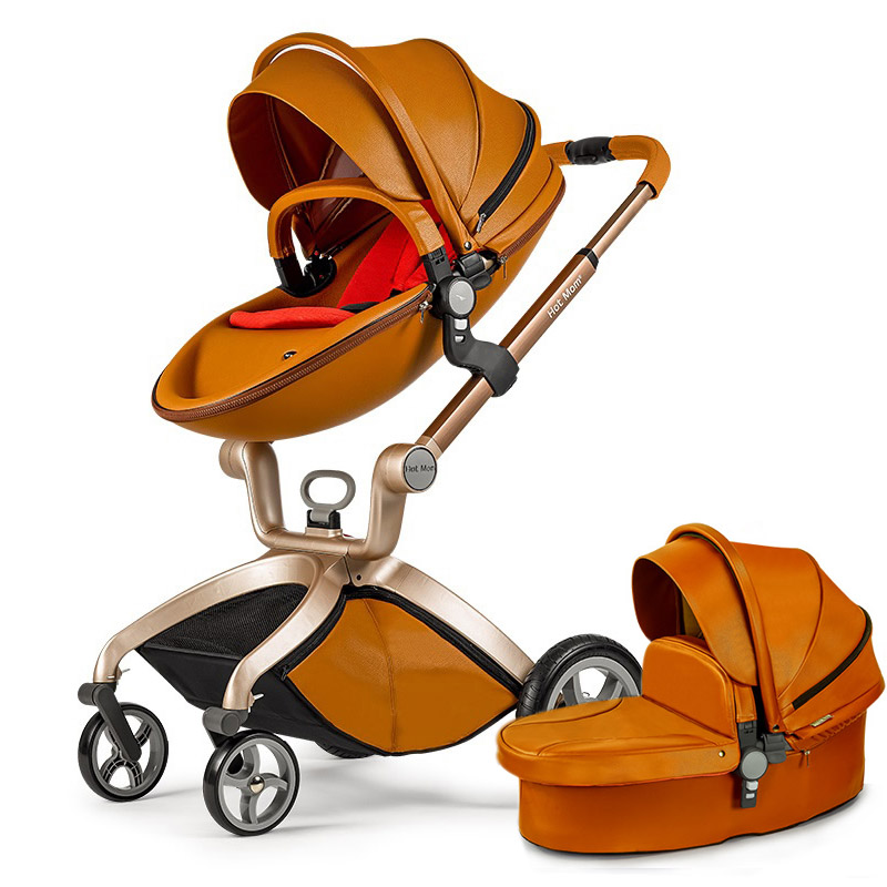 Hot mother stroller baby carriage high landscape can sit or lie on pneumatic wheel portable baby carts cartHot mother stroller baby carriage high landscape can sit or lie on pneumatic wheel portable baby carts cart