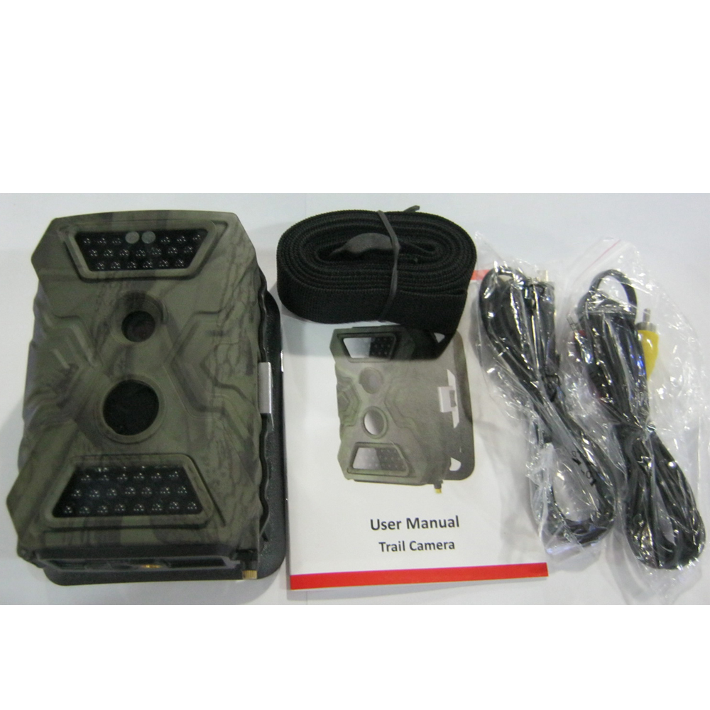 (1set) 12MP PIR Scouting Trail Camera with 20meters Night Vision 8AA Battery Power Supply 720P Video Recording & Waterproof IP54 - 5