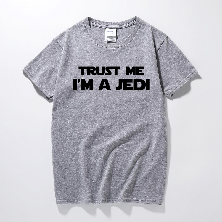 Trust Me I/'m A Jedi Inspired by Star Wars Printed Kid/'s T-Shirt