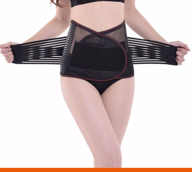 Women Waist Training  Shaper Belts Tummy Corset Orthopedic Lumbar Belt Women Elastic Slimming Corset Underwear Trimmer Shapewear 4