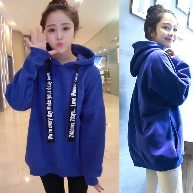 Woman Hoodies Sweatshirts 2018 Autumn Korean Style Ulzzang H