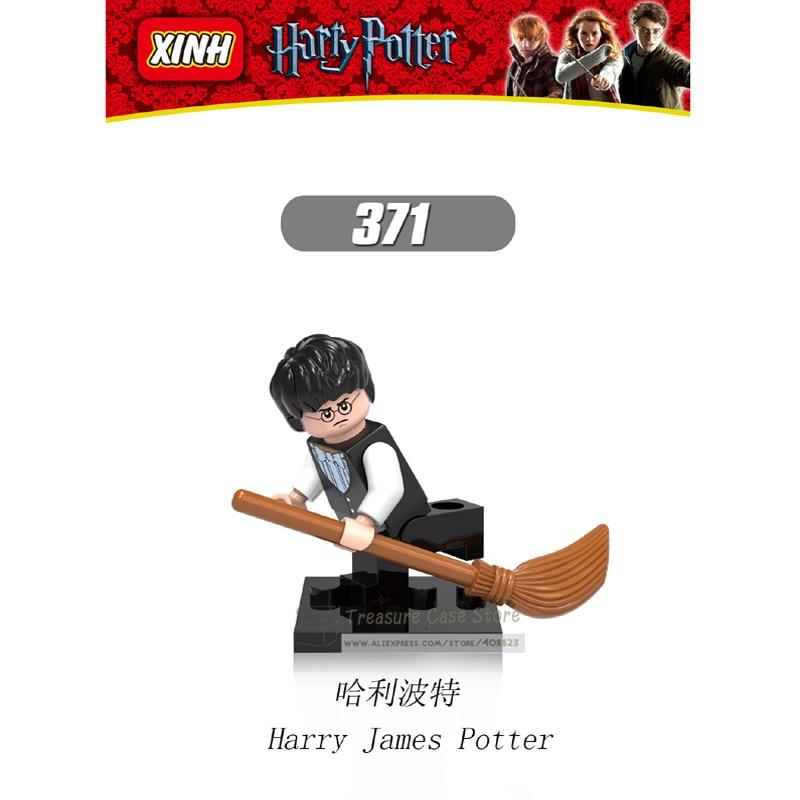 NO.371 Harry James Potter Individual Minifigure Super Hero Building Block Toy