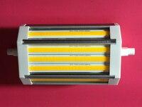 High lumens 28W led R7S light 118mm J118 COB lamp replace 300w halogen lamp 3 years warranty