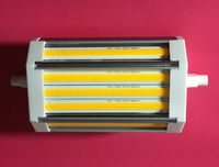 High lumens 28W led R7S light 118mm J118 COB lamp replace 300w halogen lamp 3 years warranty