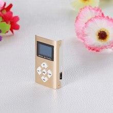 Venda quente USB Mini MP3 Player Tela LCD Suporte 8 GB Micro SD TF Card17Dec19