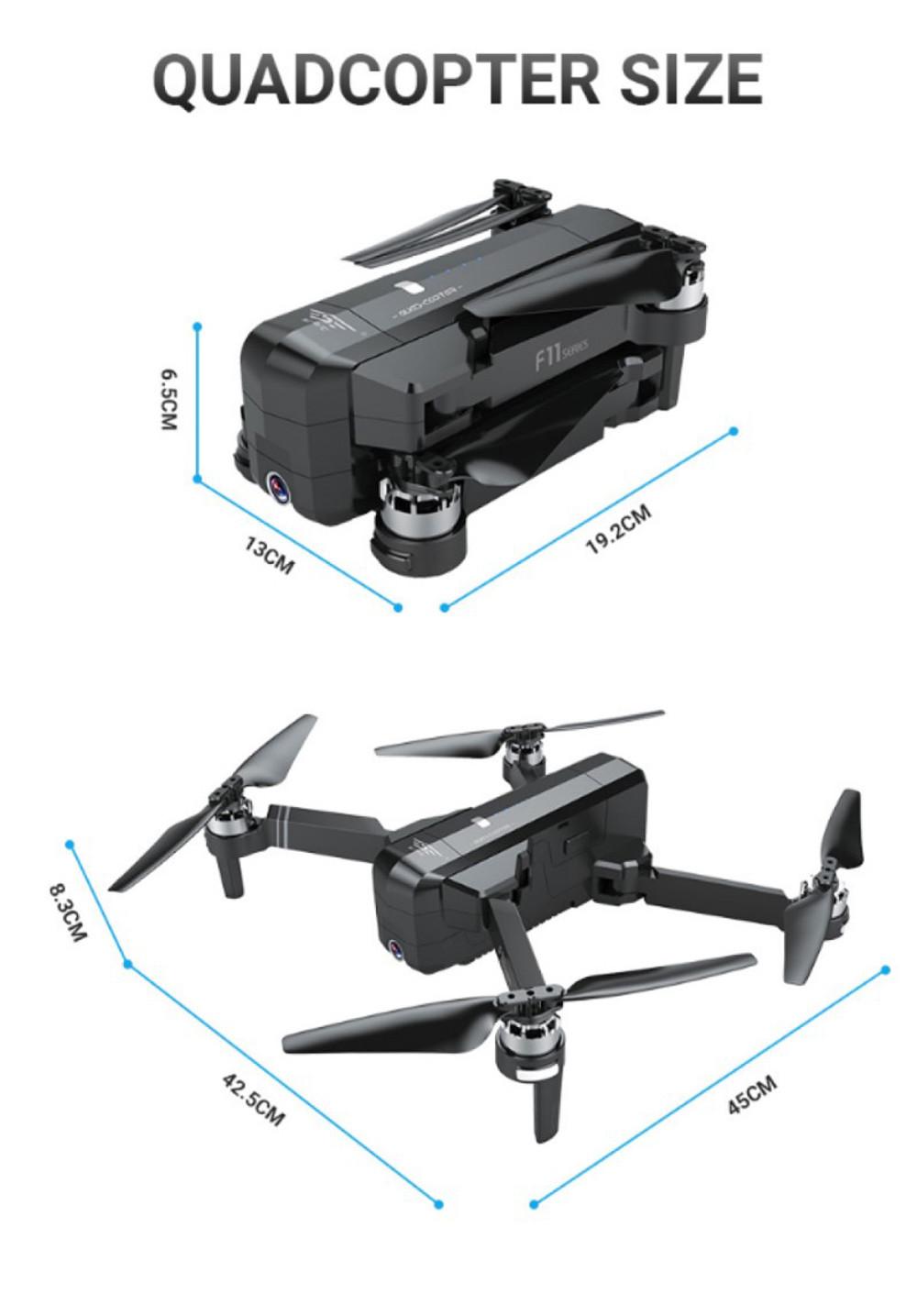SJRC F11 PRO GPS Drone 13