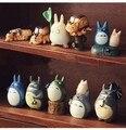10pcs/set japan movie cute My Neighbor Totoro hayao miyazaki model doll toys for children pvc classic toys education learning