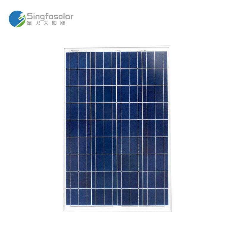 New Arrival Painel Solar 100W Solar Cell Polycrystalline Solar-PV-Kit Off Grid System Caravan Car Camp Motorhome RV Light LED solar system kit 2x 100w solar panel w corner bracket off grid for caravan