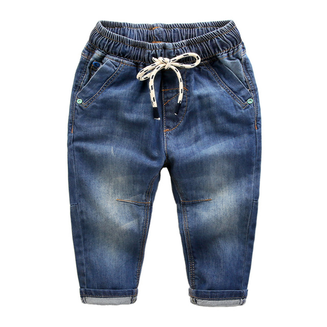 Boys jeans new spring clothes 2017 cotton baby pants children clothing