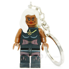 XINH 078 Scarlet Witch Super Heroes Avengers Minifigure Keys Ring Keychain Handmade Key Chain Building Blocks Toy