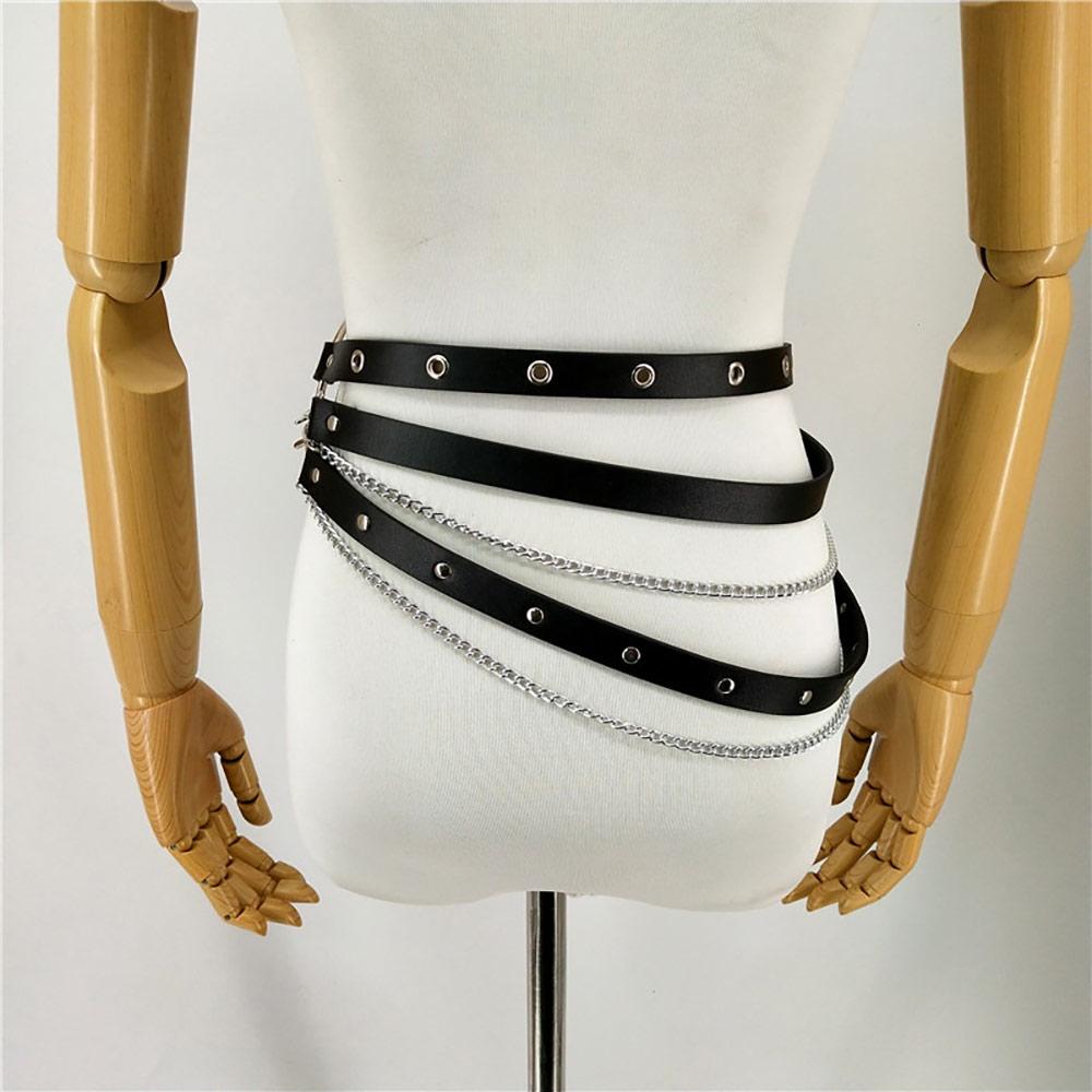 Leather-Harness-Chain-Belt-Pole-Dance-Stockings-Wedding-Garter-Belt-Bdsm-Bondage-Pastel-Goth-Sexy-Suspenders-(5)