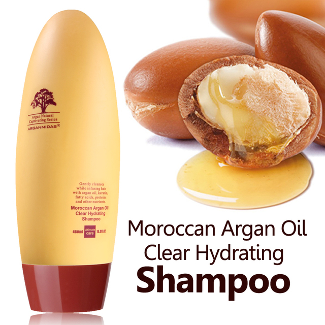 Hot !!! Arganmidas Argan Oil Repair Shampoo make hair shine and smoothing