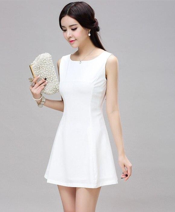 Aliexpress.com : Buy Women Summer Style Sleeveless Slim Fit Little ...