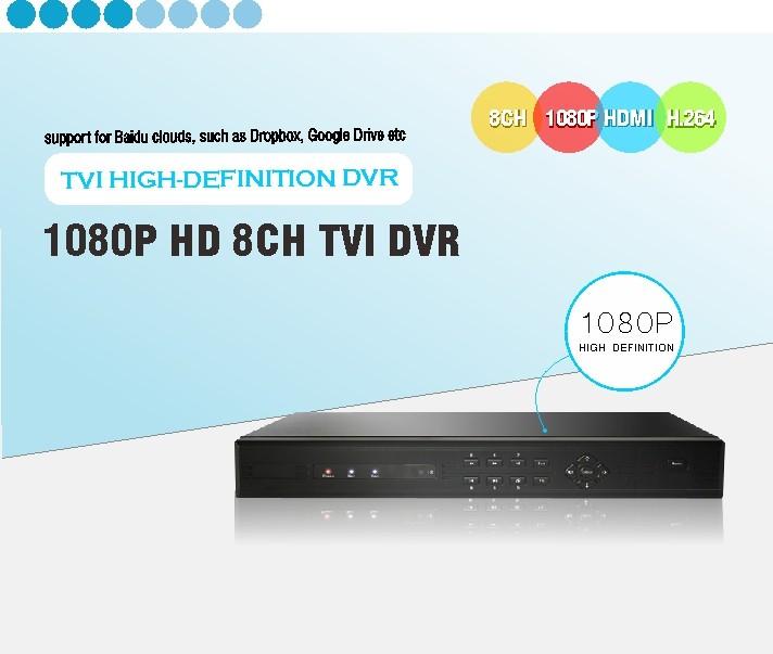 HD 1080P TVI DVR