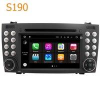 Road Top Winca S190 Android 7.1 Hệ Thống Quad CPU Car GPS DVD máy nghe nhạc Dẫn Đường Vô Tuyến đối với Mercedes Benz SLK R171 200 300 55 AMG