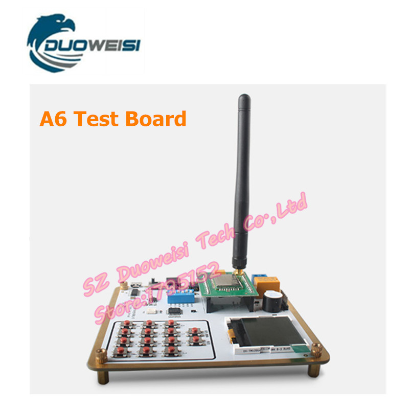 Smart Electronics GPRS module GSM module A6 \ SMS \ Speech \ board \ wireless data transmission test board fast free ship 2pcs lot 3g module sim5320e module development board gsm gprs gps message data 3g network speed sim board