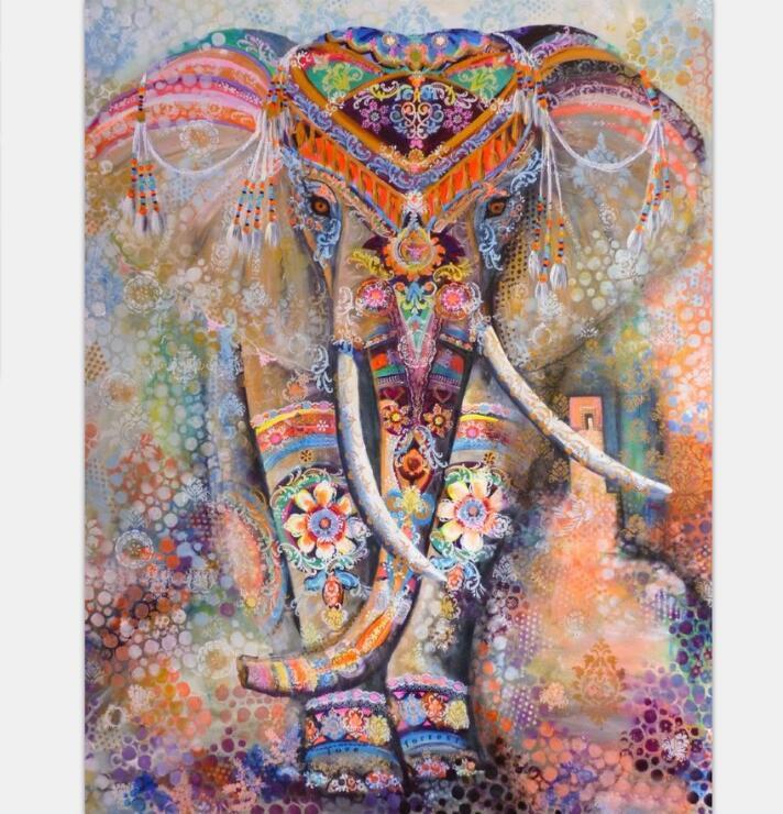 Mandala Tapestry Polyester Wall Tapestry Indian Elephant Tapestry Thin Lotus Yoga Mat Home Decor Carpet toalla mandalas playa
