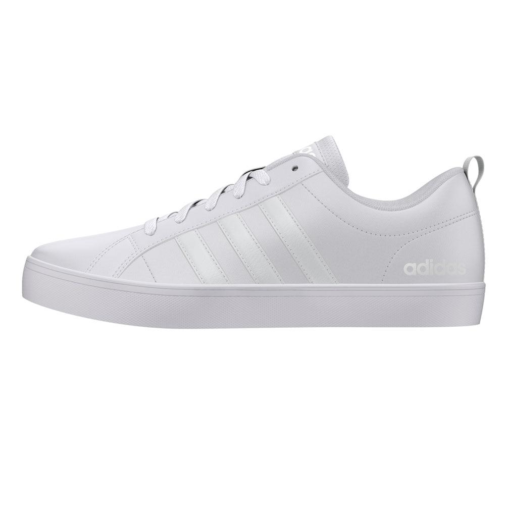 ADIDAS VS RITMO uomo-pantofola Sintetico Bianco-scarpe Adidas, Adidas scarpe da uomo
