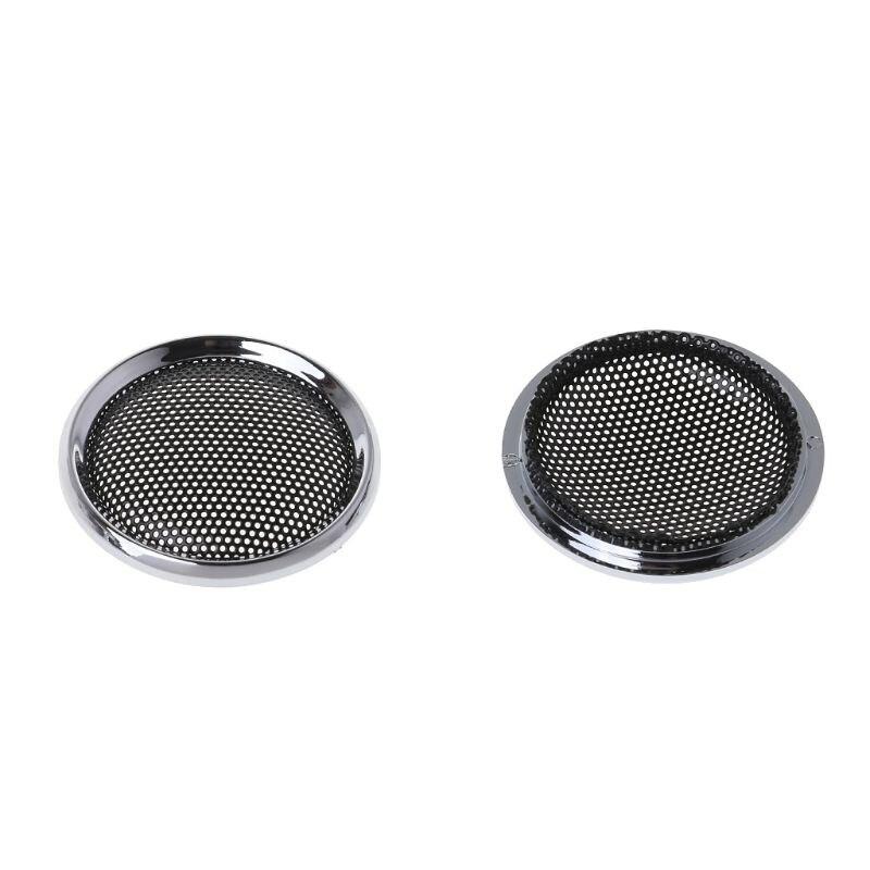 2PCS Speaker Cover Tweeter Grill Mesh Mesh Protection Grids Speakers Loudspeaker Mini 1 Inch DIY Accessories